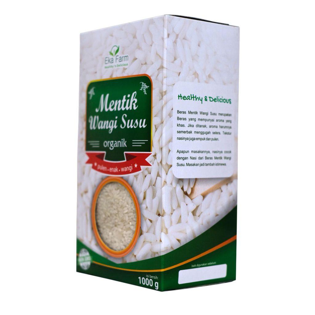 beras organik mentik wangi susu