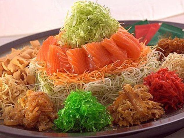 Yu Sheng, Salad Khas Imlek