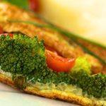 Omelet with Mashed Brocolli Menu Untuk Diet