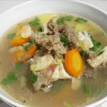 Cara Memasak Sup Daging Kambing