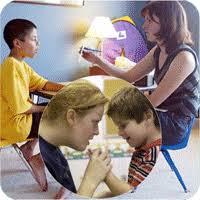 melatih anak autis