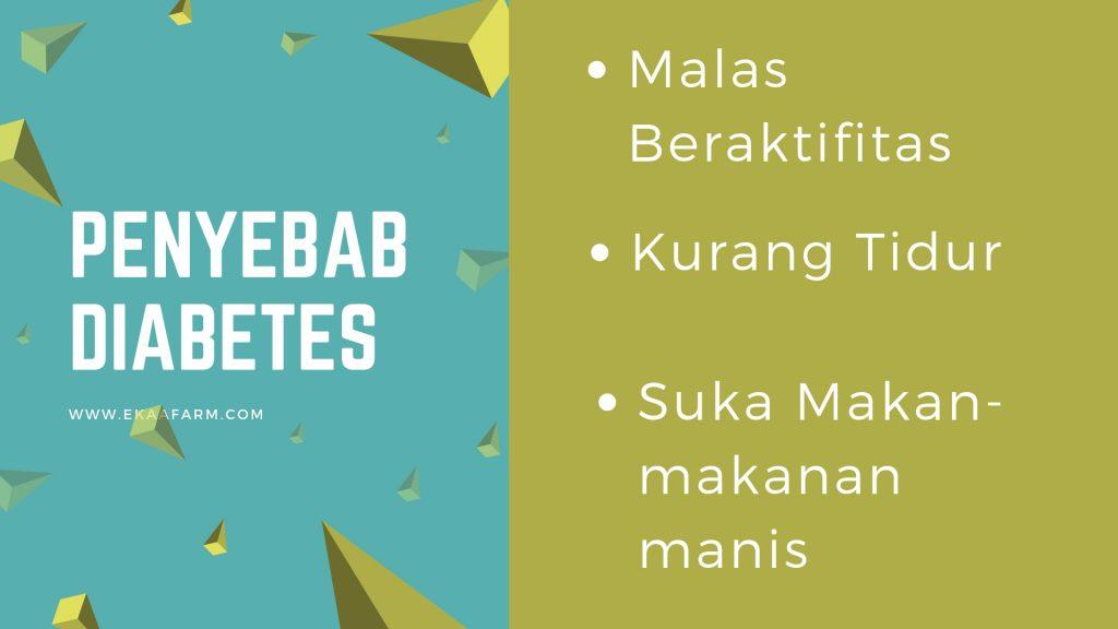 Enam Penyebab Diabetes