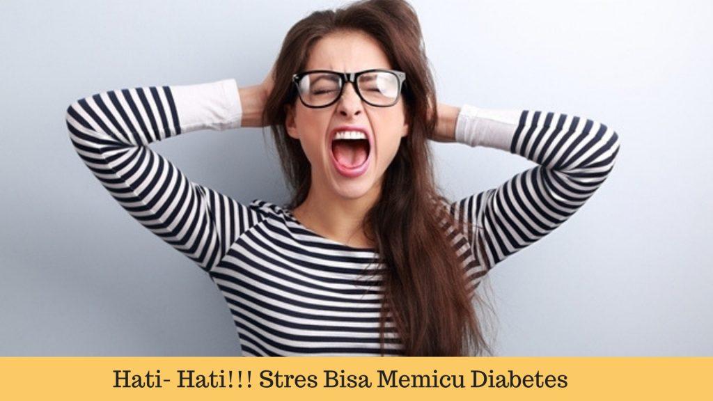 Sering stres memicu diabetes