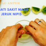 Sembuh dari sakit maag dengan jeruk nipis