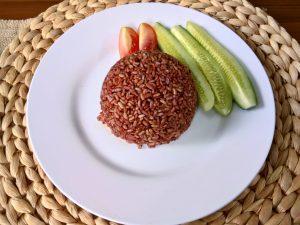 makanan untuk ibu hamil beras merah organik pulen